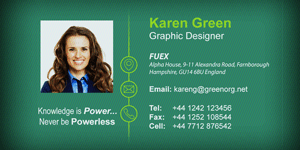 Add a photo image to your email signature.