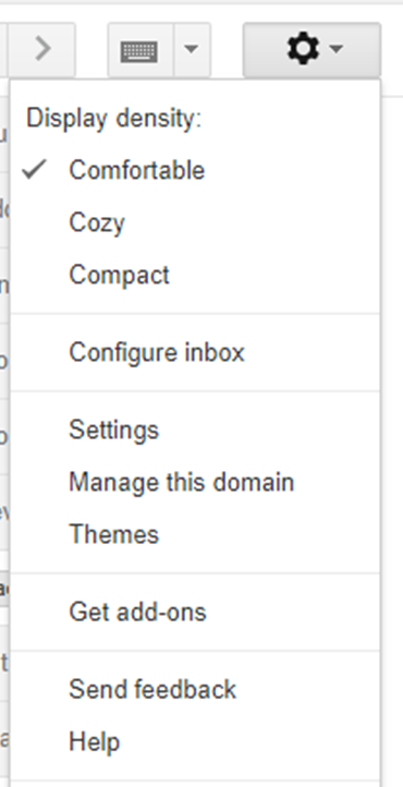 Click Settings to start your signature.