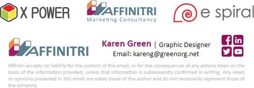 Logos in email signatures
