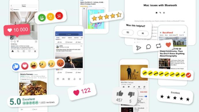 Instant digital feedback across various channels.