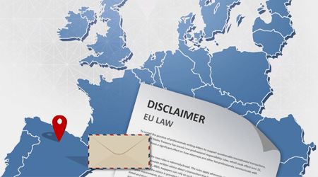 EU email disclaimer laws