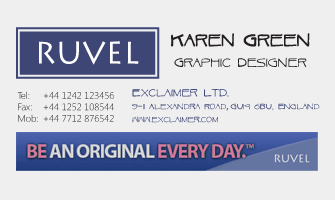 Create great signature designs with email signature software.