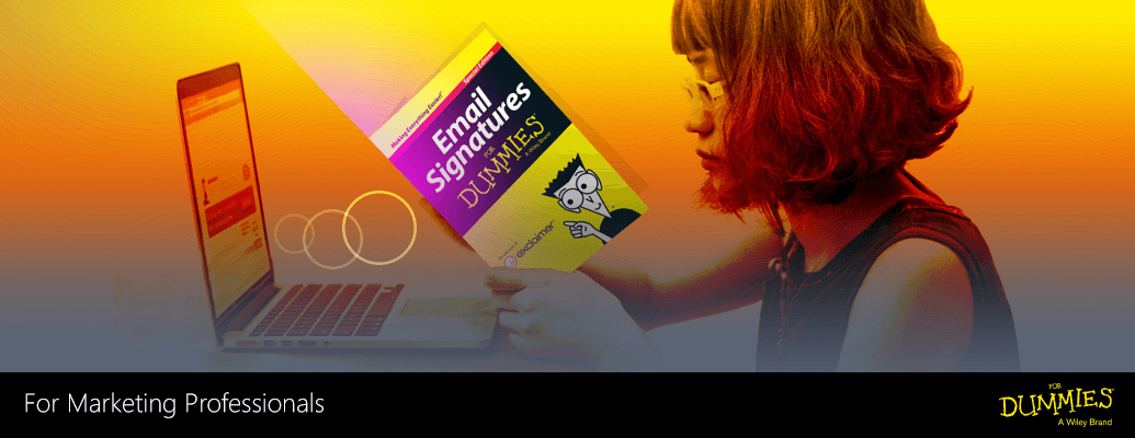 Get your Email Signatures for Dummies Guide here
