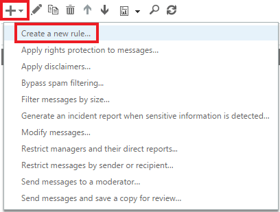 Create a new rule to start your Microsoft 365 (formerly Office 365) email signature.
