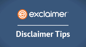 Top 5 email disclaimer tips