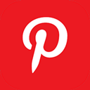 pinterest icon download 128x128 - square