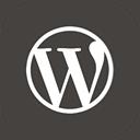 wordpress icon download 128x128 - square