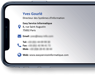 Easy Service Informatique - Signature Example