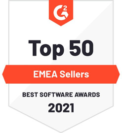 G2 Crowd - Best EMEA Sellers for 2021