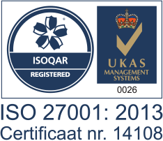Exclaimer's ISO 27001 Certification for its Exclaimer Cloud email signature management solutions.