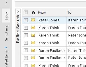 Gebruikers verwachten dat zij hun mail kunnen beheren in Outlook. Dus bieden wij een volledige Outlook add-inn die naadloos integreert met Outlook 2007, 2010 en 2013.