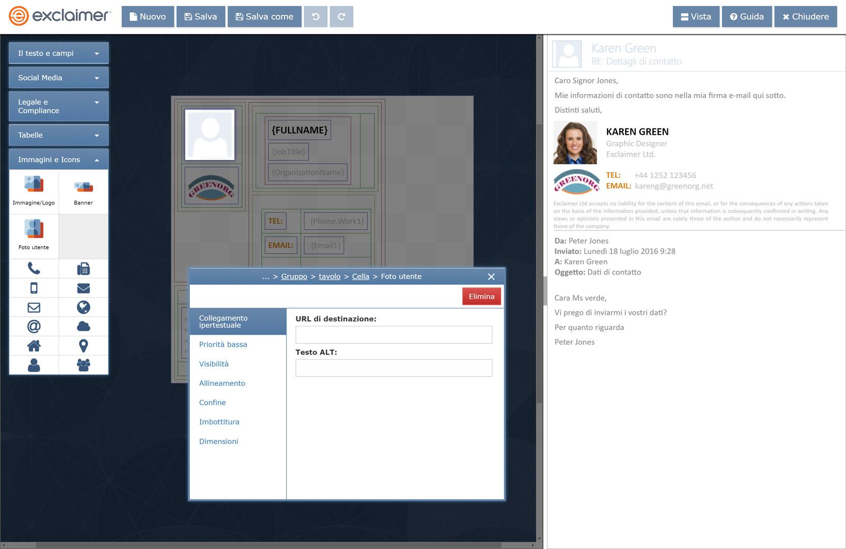 Aggiungi le foto degli utenti di G Suite alle rispettive firme Gmail.