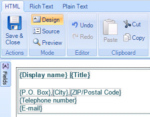 Accurate contact details in all Outlook email signatures.