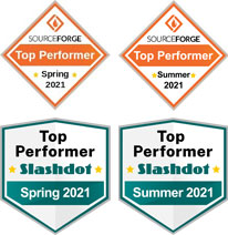SourceForge - Spring 2021 Top Performer