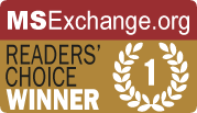MSExchange.org Readers' Choice Award Winner